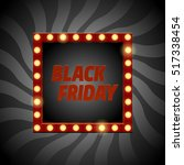 vector black friday banner....   Shutterstock .eps vector #517338454