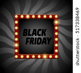 vector black friday banner.... | Shutterstock .eps vector #517338469