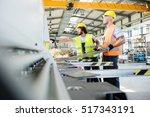 male manual workers... | Shutterstock . vector #517343191