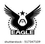 vector sign. eagle.   Shutterstock .eps vector #517347109