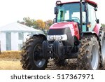 Brand New Red Tractors On The...