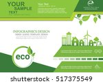 ecology connection  concept... | Shutterstock .eps vector #517375549