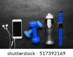 sports equipment   sneakers ...   Shutterstock . vector #517392169