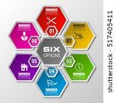 information infographic... | Shutterstock .eps vector #517405411