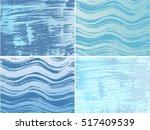 set of hand drawn grunge... | Shutterstock .eps vector #517409539