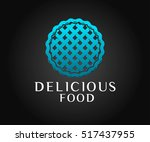 food logo and icon vector design | Shutterstock .eps vector #517437955