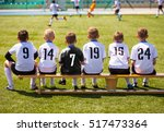 football players on match game. ... | Shutterstock . vector #517473364