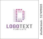 letter d logo icon design... | Shutterstock .eps vector #517499035