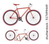 bicycle | Shutterstock .eps vector #517499449