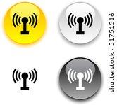 radio glossy round vector...   Shutterstock .eps vector #51751516