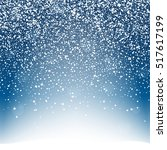 snow background with lightning. ...   Shutterstock .eps vector #517617199