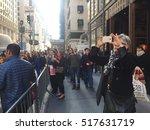 new york city   november 17 ...   Shutterstock . vector #517631719