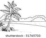 beach | Shutterstock .eps vector #51765703