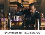 Expert Barman Is Making...