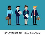 flat vector illustration of... | Shutterstock .eps vector #517686439