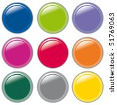 set of bubbles icons symbols...   Shutterstock .eps vector #51769063