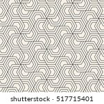 pattern with hexagonal elements.... | Shutterstock .eps vector #517715401