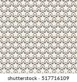 grid pattern from stars. vector ... | Shutterstock .eps vector #517716109