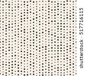pattern with dotted lines.... | Shutterstock .eps vector #517716115