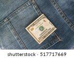 Ten American Dollars Bill...