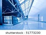 nobody in corriddor in office... | Shutterstock . vector #51773230