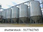 grain elevator | Shutterstock . vector #517762765