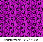 abstract geometric seamless... | Shutterstock .eps vector #517773955