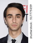 """Small photo of LOS ANGELES - NOV 17: Alex Wolff arrives to the AFI FEST 2016 """"Patriots Day"""" Special Closing Night Gala Presentation on November 17, 2016 in Hollywood, CA"""