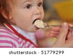 kid feeding   Shutterstock . vector #51779299