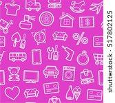 categories of goods  internet... | Shutterstock .eps vector #517802125