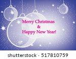 merry christmas | Shutterstock .eps vector #517810759