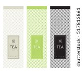 tea packaging. template design... | Shutterstock .eps vector #517813861