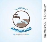 national handwashing awareness... | Shutterstock .eps vector #517823089