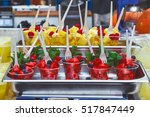 fresh fruits on display at... | Shutterstock . vector #517847449