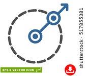 round area exit eps vector... | Shutterstock .eps vector #517855381