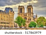 View Of Notre Dame Cathedral I...