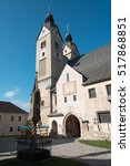 alpine religiosity   austria ... | Shutterstock . vector #517868851