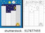 preschool worksheet for...   Shutterstock .eps vector #517877455