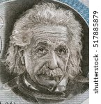 Small photo of ISRAEL - CIRCA 1968: Albert Einstein portrait on Israel 5 pounds banknote closeup. Theoretical physicist, general theory of relativity author, Nobel Prize winner