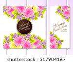 vintage delicate invitation... | Shutterstock .eps vector #517904167