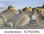 roof of sultan mir ahmed hammam ... | Shutterstock . vector #517922401