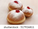 Sufganiyot Traditional Jewish...