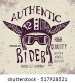 Handmade Font Motorcycle Race ...