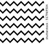 zigzag chevron seamless pattern ... | Shutterstock .eps vector #517969504