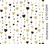 Seamless Background Hearts....
