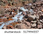 mountain river in the mountains | Shutterstock . vector #517994557