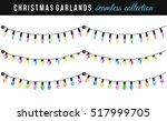 Set Of Christmas String Bulbs...
