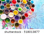 Old Paint Cans And Colors...