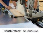 men at work sawing wood....   Shutterstock . vector #518023861