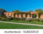 autumn landscape by danube ... | Shutterstock . vector #518033515
